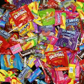 6.7 cent Hold On Your Hat. Jack Deluxe Candy Mix