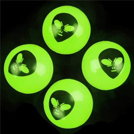 45 mm. Glow in Dark Alien Balls