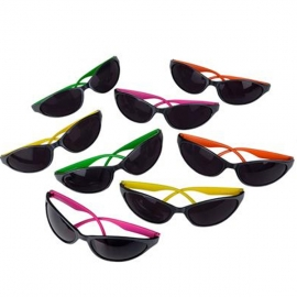 Wrap Around Neon Sunglasses