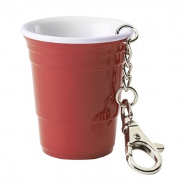 Red Solo Cup Keychain w/ Laser 6 pc Pack